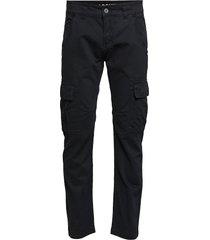 agent pant trousers cargo pants svart alpha industries