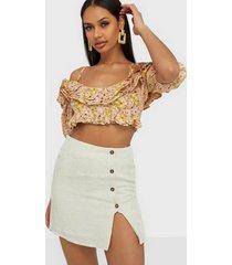 nly trend effortless skirt minikjolar