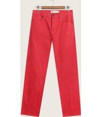 pantalon denim color tiro alto - prenco 102101-30