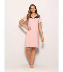 camisola any any viscose rosa