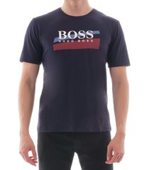 boss urban t-shirt dark blue 50414841-403