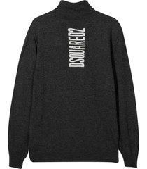dsquared2 dark gray sweater