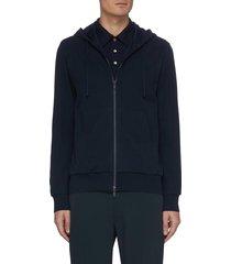 'mattis' organic cotton zip hoodie