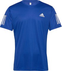 3-stripes club tee t-shirts short-sleeved blå adidas tennis