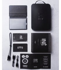xoopar ine leather rfid wallet with phone charger