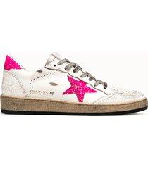 golden goose deluxe brand sneakers in pelle bianca
