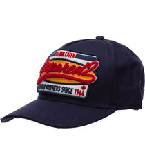 dsquared2 slide baseball cap