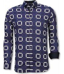 overhemd lange mouw tony backer blouse block pattern