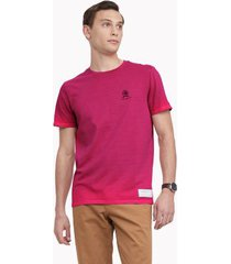 tommy hilfiger men's 35 anniversary collection t-shirt red magic - xxl