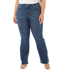 plus size women's liverpool lucy bootcut jeans