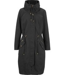 parka sciancrato a collo alto (nero) - bpc bonprix collection