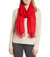 women's nordstrom tissue weight wool & cashmere scarf