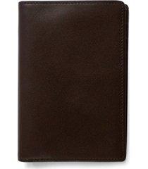 boconi 'grant' rfid blocker leather passport case - brown