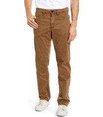 men's 34 heritage charisma relaxed fit pants, size 33 x 34 - beige