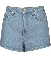 chiara ferragni flirting denim shorts