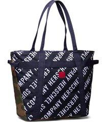 alexander zip bags shoppers casual shoppers blauw herschel