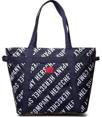 alexander zip-roll call peacoat/woodland camo bags top handle bags blauw herschel
