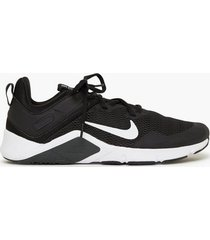 nike nike legend essential träningsskor black/white