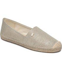 kendrick slip on sandaletter expadrilles låga silver michael kors