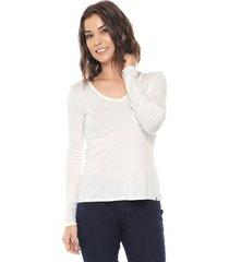 blusa lunender bolso off-white - kanui