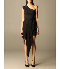 just cavalli dress just cavalli dress with asymmetrical panel