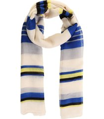 pashmina rayas horizontales azul fight for your right