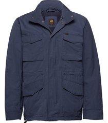 field jacket parka jacka blå lee jeans
