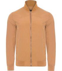 jaqueta masculina mangas longas - marrom