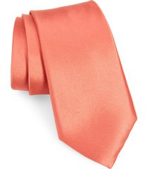 men's nordstrom solid silk tie