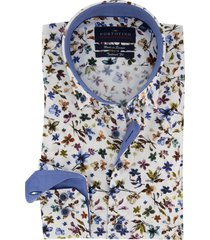 mouwlengte 7 portofino overhemd bloemenprint