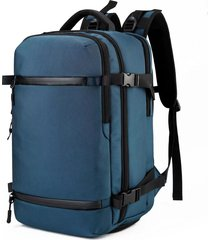 mochila de tela oxford mochila de computadora multifunción usb masculina