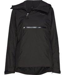 stranda ins hybrid w anorak outerwear sport jackets svart bergans