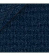 giacca da uomo su misura, tessitura di quaregna, blu hopsack, autunno inverno