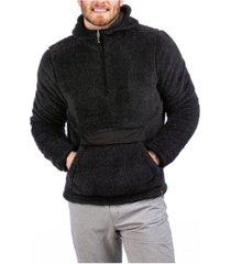 liv outdoor men's sherpa hooded sweater