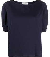 snobby sheep boat-neck t-shirt - blue