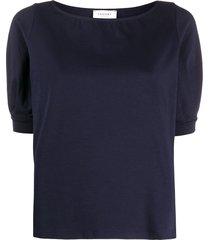 snobby sheep boat-neck t-shirt - blue