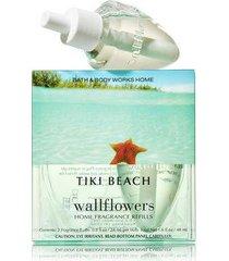 bath & body works tiki beach aromatherapy wallflowers 2-pack home fragrance refi