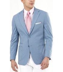 tallia men's knit slim fit blazer