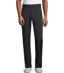 perry ellis men's slim-fit stretch pants - black - size 40 32