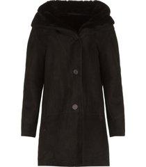 lammy coat babina  zwart