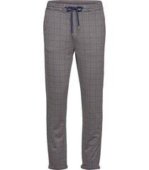 club pants with elastic waist casual byxor vardsgsbyxor grå lindbergh