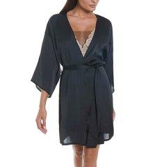pyjama's / nachthemden selmark zwarte scalla negligee