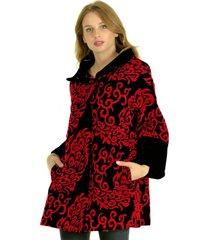 abrigo bordado burdeo bous