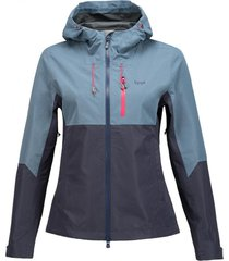 chaqueta summit b-dry indigo / azul oscuro lippi