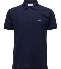 lacoste poloshirt short sleeves polos short-sleeved blauw lacoste