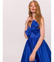 sukienka mini satynowa