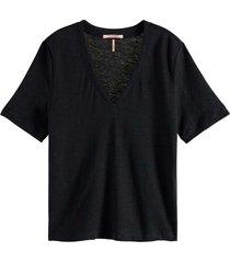 t-shirt with v-neckline