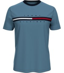 tommy hilfiger men's tino logo t-shirt
