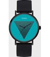 zegarek z logo i małymi ćwiekami