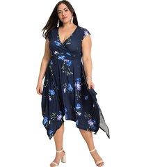 asymmetrische jurk